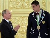 بالصور.. بوتين يمنح أبطال روسيا فى الأولمبياد أوسمة الدولة