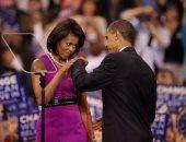 ميشيل وباراك أوباما.. 8 سنوات رومانسية فى البيت الأبيض