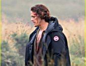 سام هيوين يصور مسلسل Outlander فى اسكتلندا