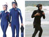 """""""الإندبندنت"""" تنشر 7 صور تسخر من حظر فرنسا للبوركينى والسماح لأزياء مماثلة"""