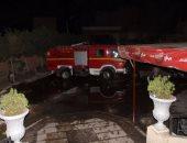 السيطرة على حريق نشب بأرشيف وحدة مرور بولاق أبو العلا