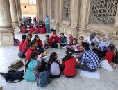 """البيئة تشارك فى  مبادرة  """"طوف وشوف """" لزيارة المعالم الأثرية"""