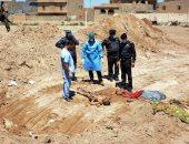 العثور على مقابر جماعية ببنغازى الليبية