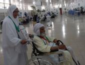 """السفير الفلسطينى يصل مطار القاهرة لتوديع """"حجاج غزة"""""""