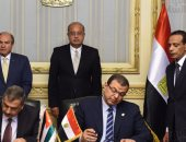 بالصور.. رئيس الوزراء ونظيره الأردنى يوقعان 13 اتفاقية تعاون مشترك بين البلدين