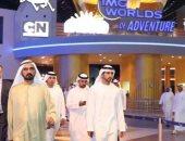 حاكم دبى يفتتح أكبر مدينة ترفيهية عائلية مغطاة فى العالم