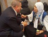 بالصور..وزير الداخلية يوجه بتقديم الخدمات لحجاج فلسطين القادمين من غزة
