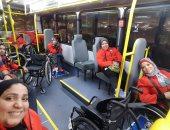 وصول الفوج الأول للبارالمبية إلى أولمبياد البرازيل