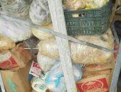 التموين تضبط 250 كجم لحوم ودواجن فاسدة من مطعم غير مرخص بالعجوزة