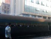 السيطرة على حريق فى عربة قطار قديمة متوقفة بمحطة سكة أمام قرية بالمنيا