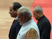 بالفيديو.. السيسي لرئيس وزراء الهند: نعمل على تعزيز التعاون لمكافحة الإرهاب