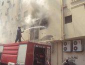 الحماية المدنية بالجيزة تسيطر على حريق شقة سكنية فى العجوزة دون إصابات