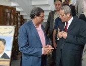 خالد يوسف يلتقى وزير التعليم ومحافظ القليوبية لبحث قضايا المعلمين
