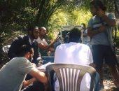 """محمد رمضان ينشر صورة له فى كواليس """"جواب اعتقال"""""""