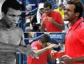 """بالفيديو.. تسونجا المصنف الـ 11 عالميا فى التنس الشبيه الأكبر لـ """"كلاى"""""""