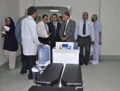 بالصور ..رئيس جامعة قناة السويس يفتتح وحدات علاجية جديدة بالمستشفى التخصصي