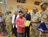 """بالصور.. محافظ الإسماعيلية يشهد احتفالية لتكريم أبطال """"ريودى جانير"""""""