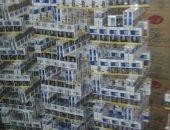 ضبط 135 ألف علبة سجائر أجنبية مهربة قبل ترويجها بكفر الشيخ