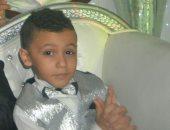 بالصور.. مأساة الطفل مازن بعد إصابته بكسر فى الجمجمة ونزيف بالمخ