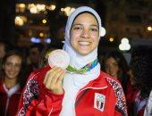 """هداية ملاك تتحدث عن إنجازها فى أولمبياد ريو فى برنامج """"فى الاستاد"""""""