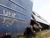 بالصور.. ارتفاع أعداد ضحايا قطار العياط لـ3 وفيات و20 مصاباً
