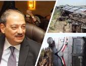 النائب العام يأمر بفتح تحقيقات موسعة حول حادث انقلاب قطار العياط