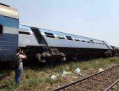 ننشر القائمة الكاملة بأسماء المصابين والمتوفين فى حادث قطار العياط