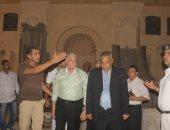 محافظ جنوب سيناء يتفقد مسجد الصحابة والميدان المحيط به