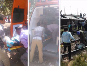 """بالصور.. تغطية خاصة لحادث قطار """"العياط"""".. لحظة بلحظة"""