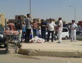 شهود عيان: ملثمان ترجلا من سيارة ملاكى وأطلقا النار على أمين شرطة أكتوبر