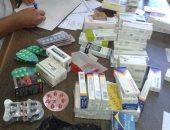 ضبط أدوية مجهولة المصدر داخل مركز للنحافة والتخسيس بالإسماعيلية