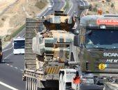المرصد السورى: تركيا تسمح بإدخال 185 شاحنة محملة بالأسلحة للمتشددين فى إدلب