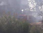 بالصور.. حرب بين قريتين بكفر الشيخ على خلفية بيع منزل وقطعة أرض