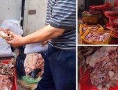 حى روض الفرج يضبط سيارة تبيع منتجات غذائية فاسدة