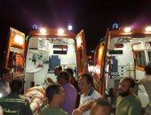 إصابة 5 طلاب فى حادث مرورى على طريق مطروح - إسكندرية الساحلى