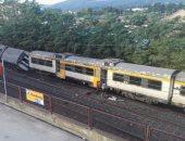مصرع 30 شخصا فى خروج قطار عن القضبان بالهند