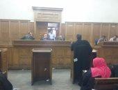 """تأجيل إعادة محاكمة 16 متهما فى أحداث """"عنف جامعة الأزهر"""" لـ 13 نوفمبر"""