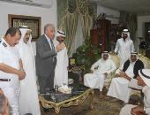 بالصور.. محافظ جنوب سيناء يترأس جلسة مصالحة عرفية بين عائلتين من بدو دهب