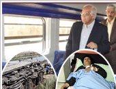 بالفيديو والصور.. وزير النقل من داخل قطار بخط الصعيد: حركة القطارات منتظمة وآمنة