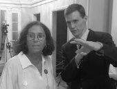 السفير البريطانى يستقبل الفنانة عزة فهمى ضمن مبادرة وجوه مصرية ملهمة