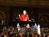 """الملكة رانيا تلقى كلمة فى الحفل الخيرى لبيع سيارة """"شاليمار الشربتلى"""""""