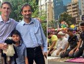 السفير البريطانى بعد ظهوره فى مصطفى محمود: أول مرة أشاهد صلاة العيد