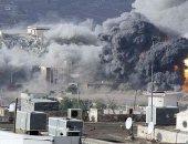طائرات دول التحالف تقصف معسكر الصواريخ بجبل عطان جنوب غرب صنعاء
