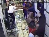ضبط عاطل متورط فى سرقة رواد البنوك بالجيزة