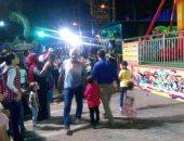 بالصور..  احتفالات المواطنين بالعيد فى شبرا الخيمة تمتد إلى منتصف الليل