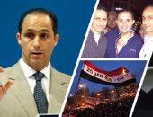 بالفيديو.. مواطنون يتزاحمون لالتقاط الصور مع جمال وعلاء مبارك بالشيخ زايد