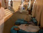 بالفيديو والصور.. حجاج القرعة يقضون يومين فى الشارع لسوء حالة المخيمات