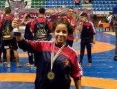 ريم مجدى تفوز ببرونزية المصارعة النسائية فى بطولة العالم للناشئين