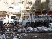 محافظة الجيزة ترفع 30 ألف طن مخلفات خلال أيام عيد الأضحى