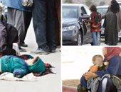 عودة الكتعة.. ضبط عصابة تتسول بالأطفال فى حدائق شارع الطيران بمدينة نصر